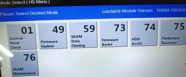东芝2508A/2518A/2000AC/2500AC/2010AC等报错F101更换硬盘升级教程
